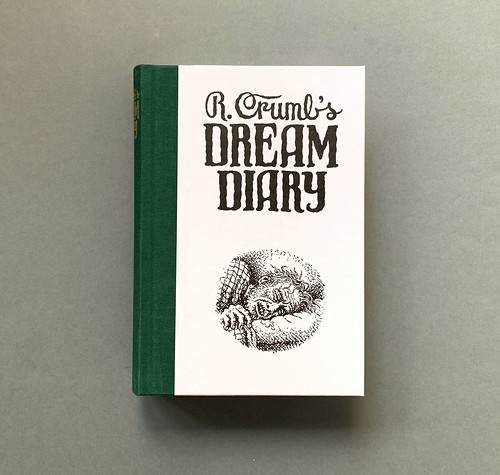 Cover_R. Crumb's Dream Diary, Elara Press, Robert Crumb