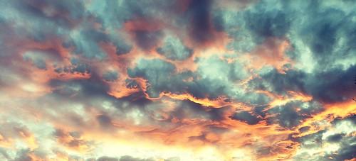 sky clouds sunset arizona phonepics samsunggalaxy