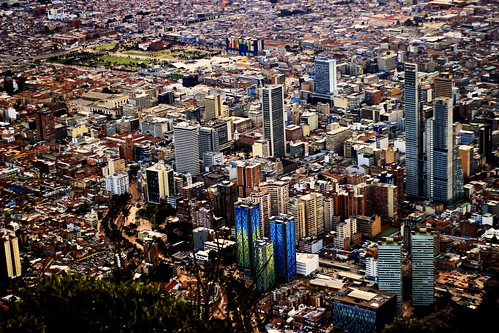 colombia bogotá cundinamarca capital ciudad city downtown people structure megacity population urban urbano