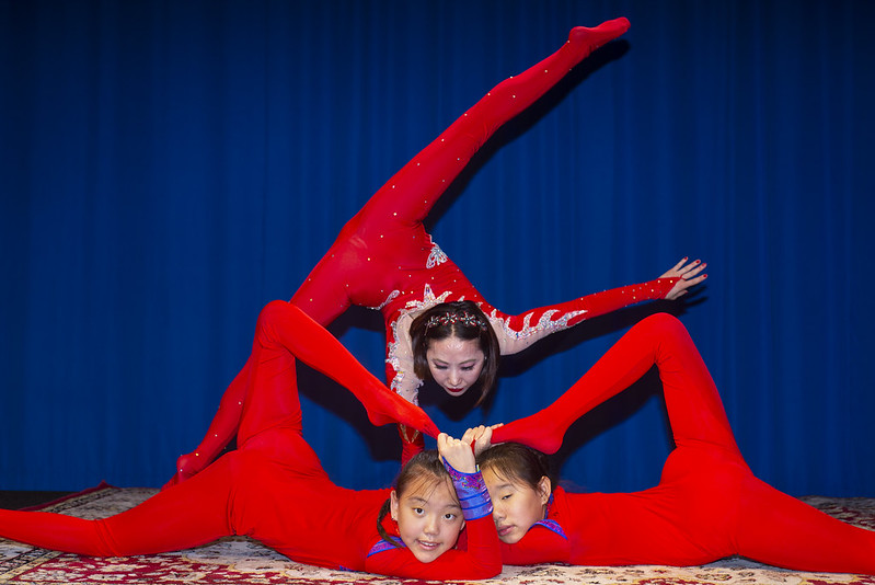 Mongolian Contortionist Apprenticeship