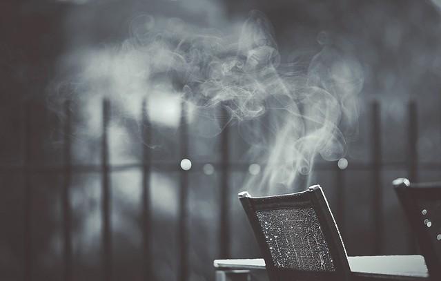 The smoking chair...