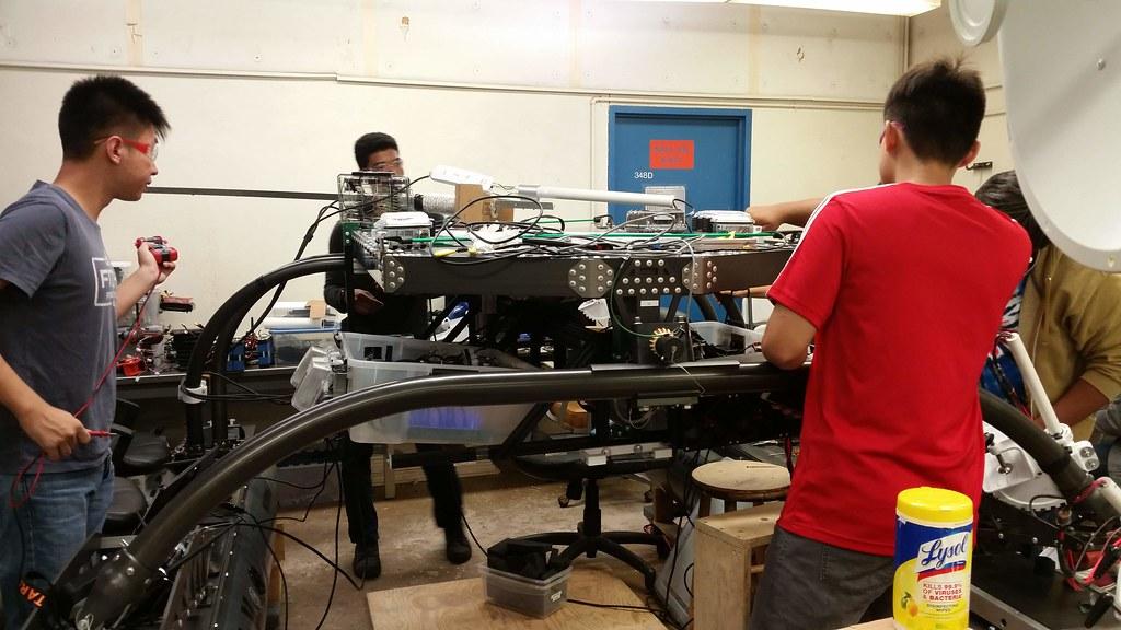 AUVSI Maritime RobotX 2018 Preparation - Fall 2018