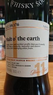 SMWS 39.176 - Malt o' the earth