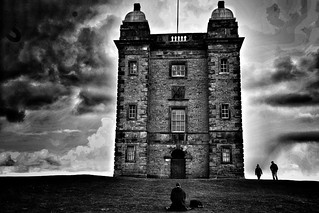 """The """"cage"""" Lyme park Cheshire"""