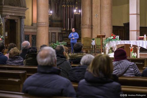 Celebrazione della veglia di Natale con Cesare Nosiglia