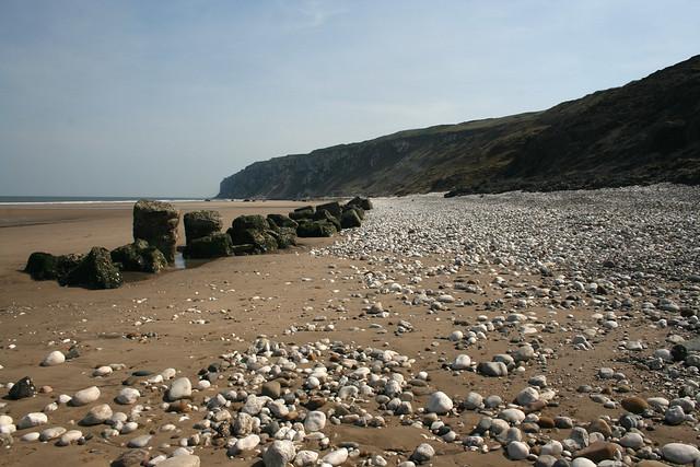 The beach near Flamborough Head