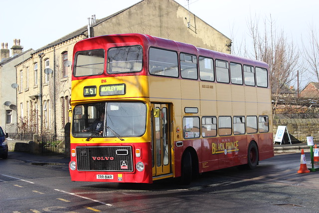 Dewsbury Bus Museum`s Spring Open Day TRR814R