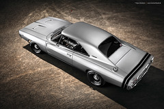 silver 1968 Dodge Charger R/T - Shot 12
