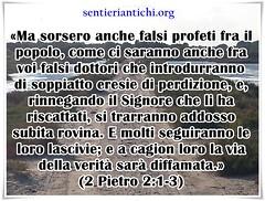 Attenti ai falsi dottori che sono in mezzo alla Chiesa di Cristo