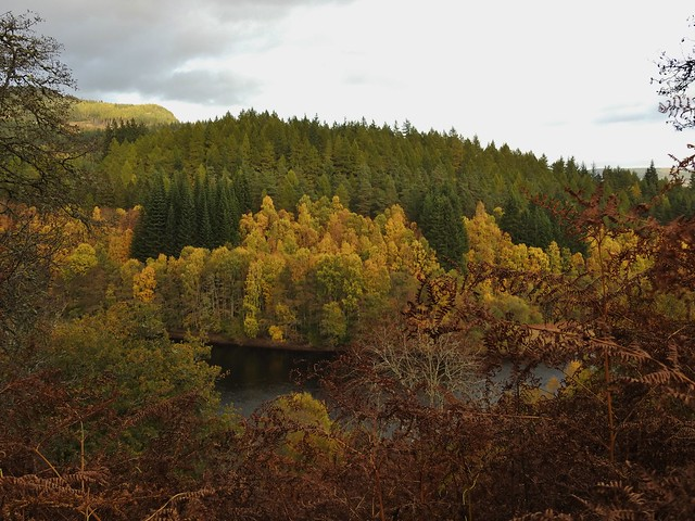 Autumn in Perthshire, Scotland - October 2018