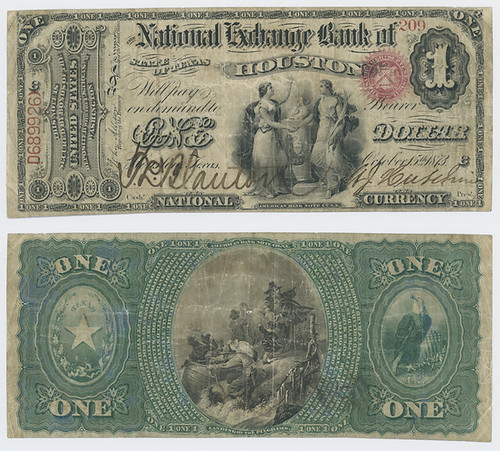 United States $1.00 (one dollar) national currency   by SMU Libraries Digital Collections