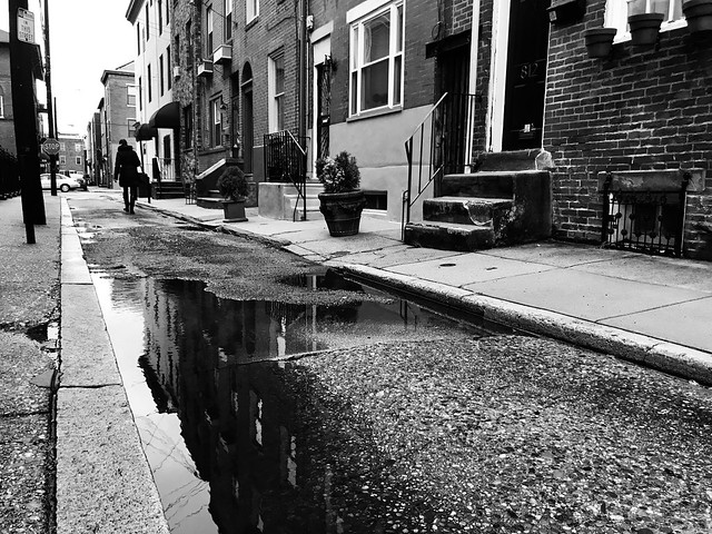 Alley Puddles