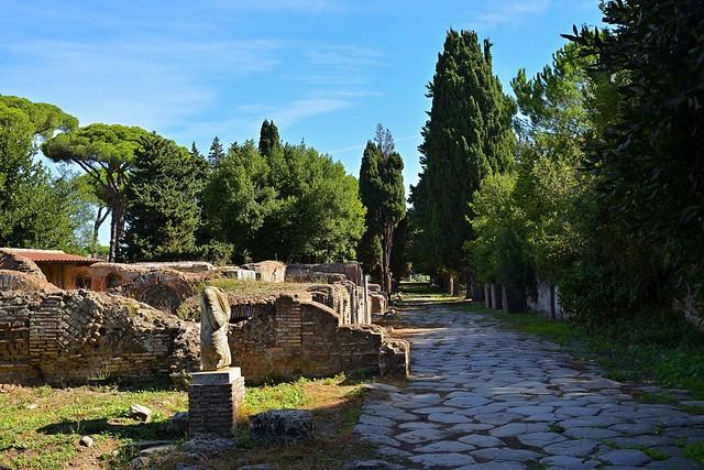 Rome / Ostia Antica / Ruins / Headless Statue