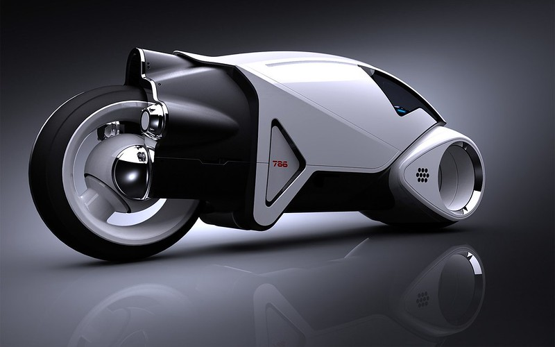 Обои концепция, прототип, мотоцикл, будущее картинки на рабочий стол, фото скачать бесплатно