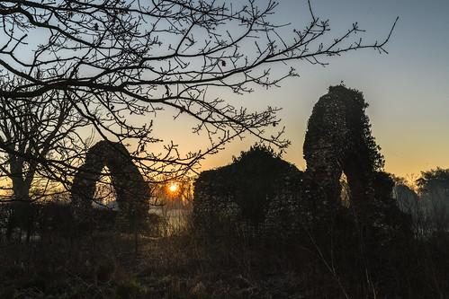 photographybyjuliamartin sunrise dawn churchruins sonya7rlll norfolk surlingham norfolkvillage