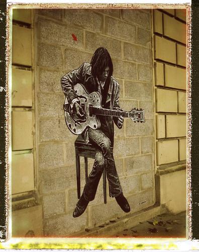 Neil Young by Jef Aerosol (Marquette Lez Lille)