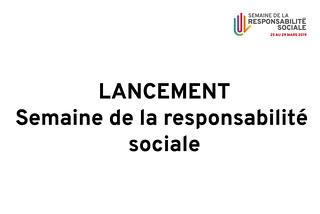 Première Semaine de la responsabilité sociale Fac de médecine UL 2019