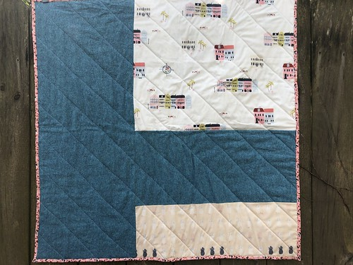 Charleston Baby Quilt Back | by daisyeyes