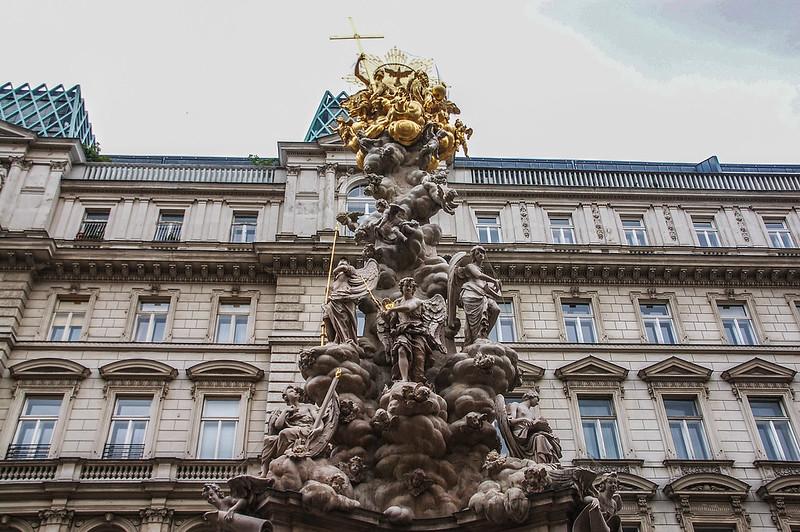 黑死病紀念柱(Plague column, Vienna) 7