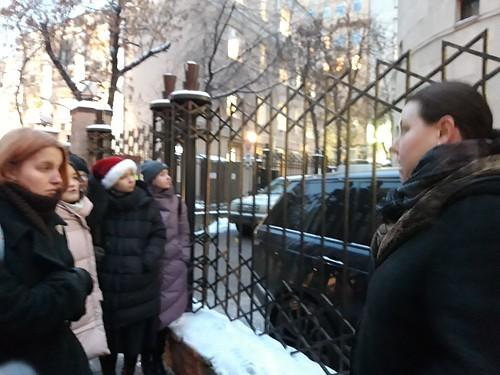 Дек 21 2018 - 16:14 - 21 декабря 2018 года учащиеся и сотрудники Литинститута были в гостях у соседей по Большой Бронной. В рамках курса Истории религии студенты посетили это знаменитое молитвенное место, объединяющее иудейскую диаспору столицы.