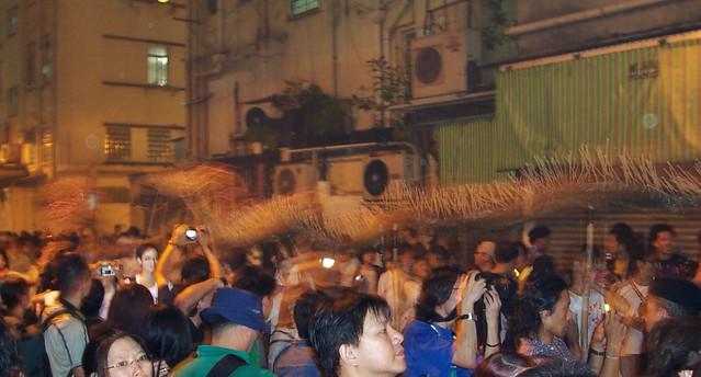 Fire Dragon Dance, Tai Hang, Causeway Bay, Hong Kong