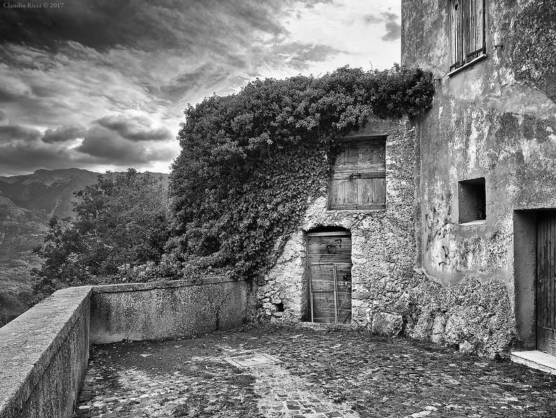 Ghost Town, Abruzzo, Italy