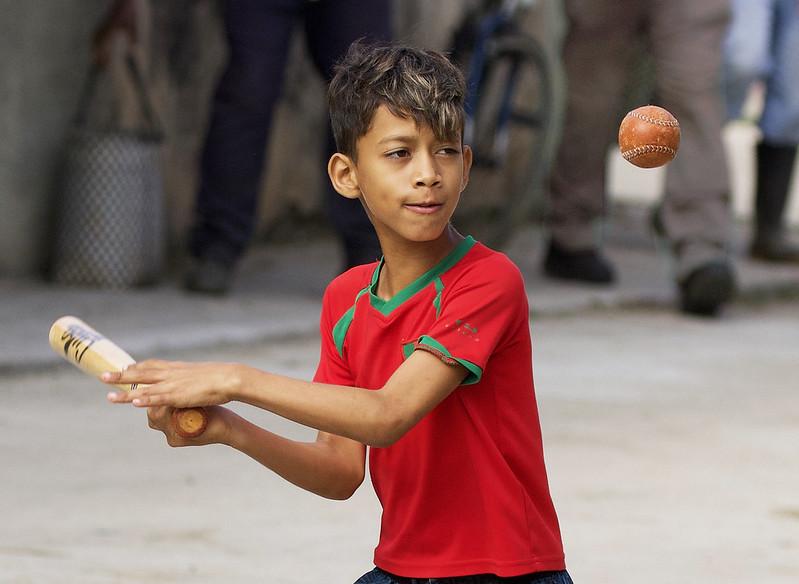 Kid practicing beisball Trinidad, Cuba Ascanio 199A4427 copy 2