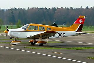 HB-OQG   Piper PA-28-151 Cherokee Warrior [28-7415089] Birrfeld~HB 08/04/2009