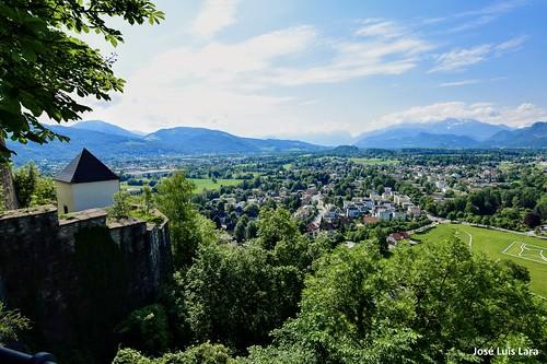 cityscape landscape paisaje castillo fortaleza montañas