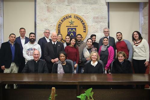 2019-02-28 Bethlehem University Foundation Patrons Group