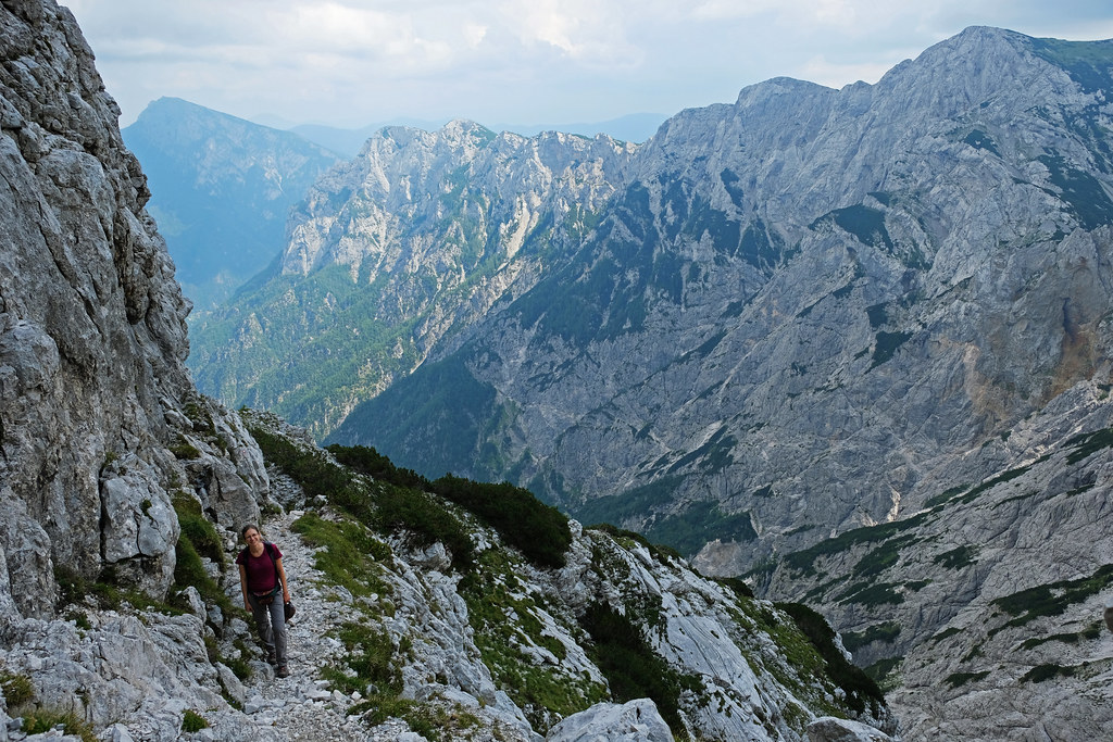 Hiking to Ojstrica, Logar Valley, Slovenia