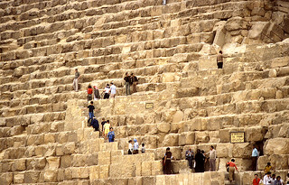 Entrance to the Great Pyramid