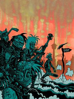 Zombie Punx | by Tom Bagley