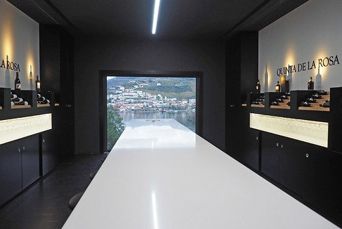 Reception and tasting room, Quinta de la Rosa, Douro Valley, Portugal | by BuzzTrips