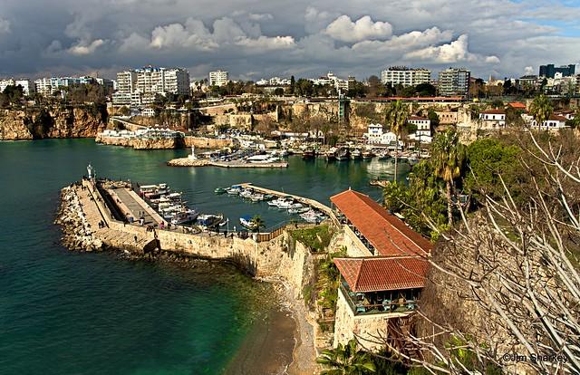 Kaleici Marina Antalya turkey