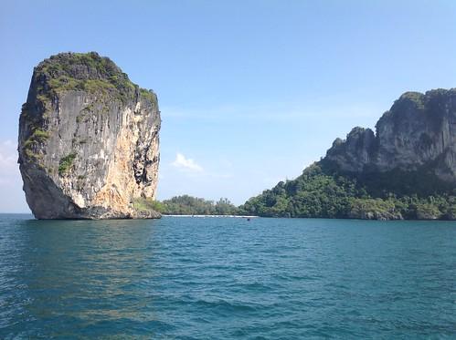 тайланд thailand sea tree sky ocean water landscape grass rock bay boat mountain