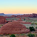 Sunset at Mystery Valley - Monument Valley by W_von_S