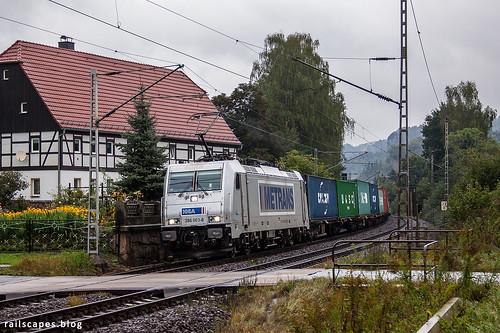 Metrans Traxx | by VTZK