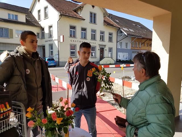 30.03.2019 Rosenverkauf für Brot für alle