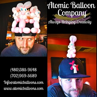 We still have availability for parties and deliveries for this Easter!! So, HOP on over to our website at atomicballoons.com and reserve your Atomic Artist now! #easter #balloons #party  Atomic Balloon Company  Always Bringing Creativity  (480)385-9648 (7 | by Atomicballooncompany