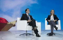 Bloque 30 años de historia del Partido Popular con Mariano Rajoy y Ana Pastor
