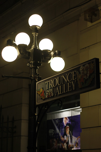 Trounce Alley Sign