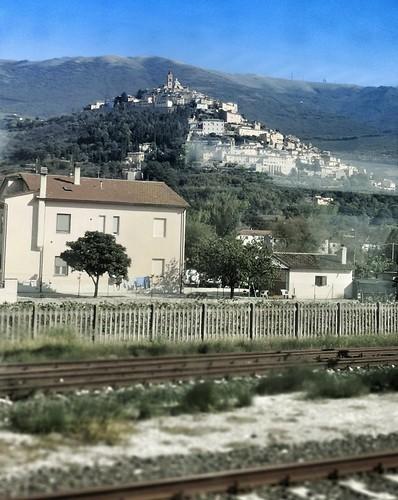 Assisi rautatieasemalta nähtynä | by helipekkarinen