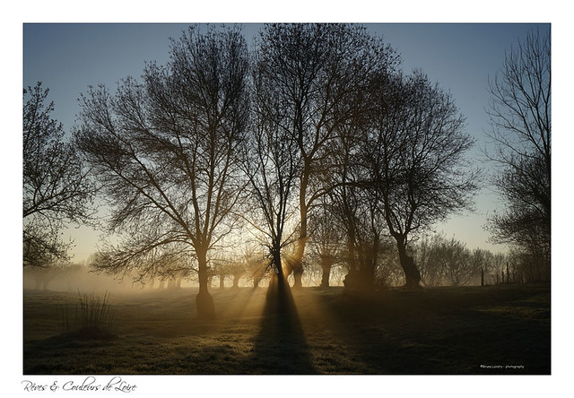 Lumière céleste de ce matin