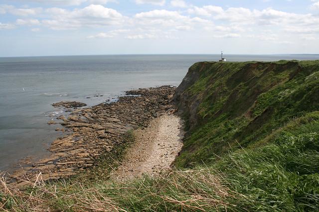 The coast near Long Nab, North Yorkshire
