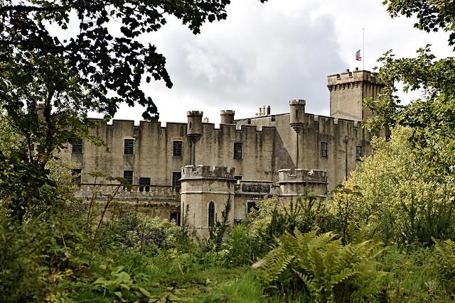 Dunvegan Castle. Isle of Skye. Scotland