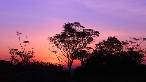 bukitcina melaka sunrise dawn colours