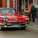 Klassieke auto in Røros Norway