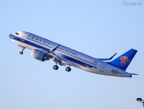 F-WWBU Airbus A320 Neo China Southern | by @Eurospot