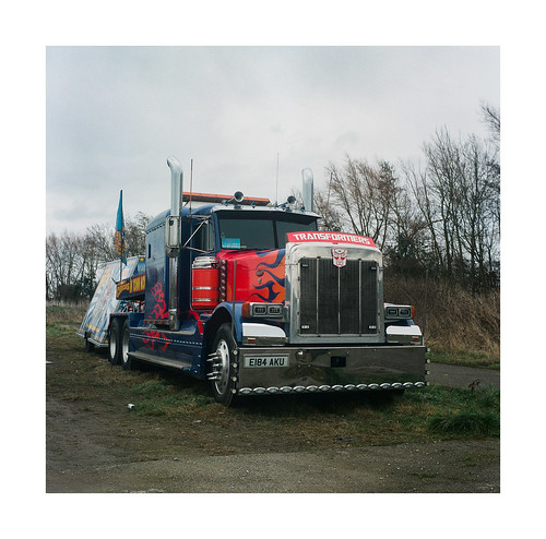 FILM - That time Optimus ran away to join the circus | by fishyfish_arcade